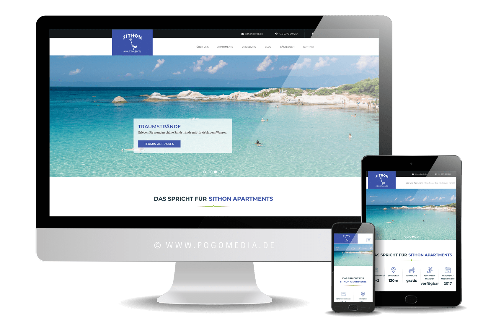 Webdesign: sithon.de